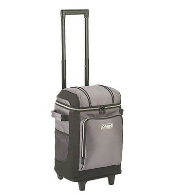 Camping Picnic Wheeled Cooler Bag Insulated Thermal Portable Rolling Storage New