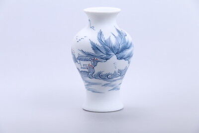 Exquisite chinese painting Scenery porcelain Vase  xhp77