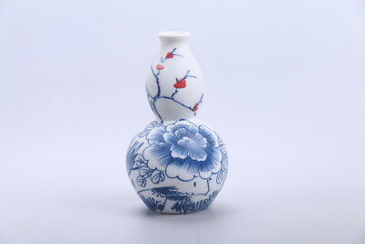 Exquisite chinese painting flower porcelain Vase  xhp85