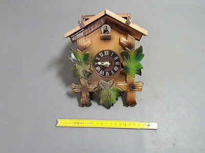 antique Cuckoo forest black pendulum antique old clock french antique