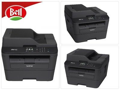Brother Printer MFCL2740DW Wireless Monochrome Printer with Scanner, Copier Fax
