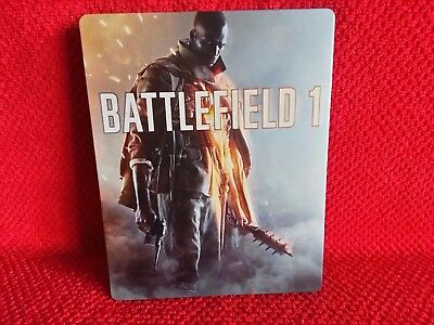 Battlefield 1 Steelbook Hülle Neu PC Ps4 Playstation 4 XBox One Game ohne Spiel