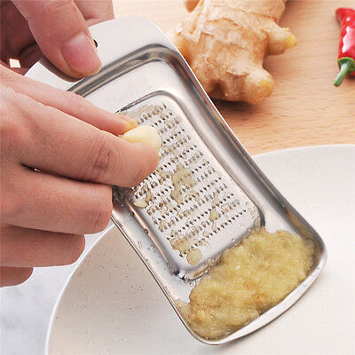 Rocker Rocking Garlic Press Crusher Solid Stainless Steel Mincer Chopper Tools