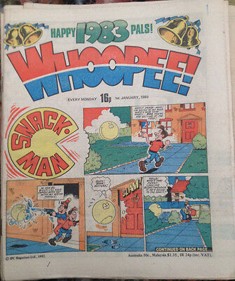 Whoopee x 31 comics Job Lot (1983)