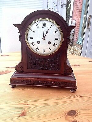 Antique Quality French 8 Day Striking Mantel Clock c 1885 Family Clock.