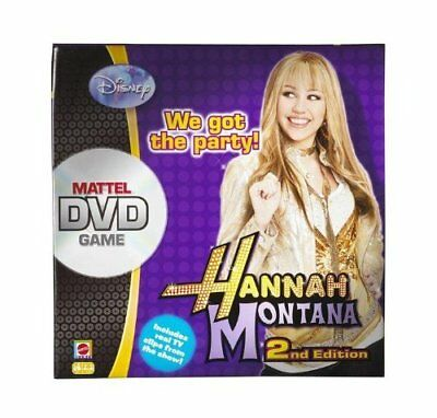 Hannah Montana DVD Game New Encore Edition