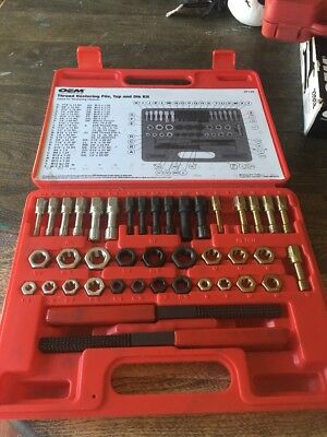 Oem Thread Restoring File Tap And Die Kit