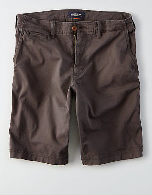 American Eagle Mens Extreme Flex Longer Length Shorts - Black Sizes 34-44 NWT