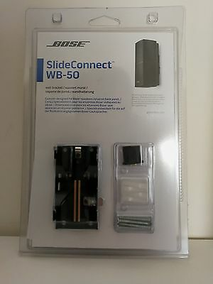 Bose speakers wall mounting SlideConnect WB-50 Wall Bracket Support mural BLACK
