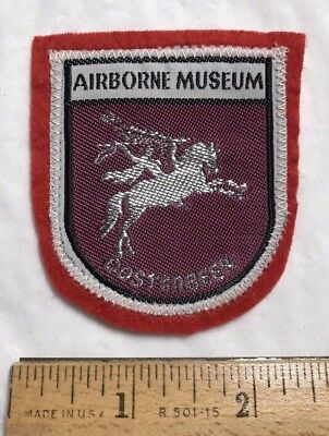 Airborne Museum Hartenstein Oosterbeek The Netherlands Souvenir Felt Patch