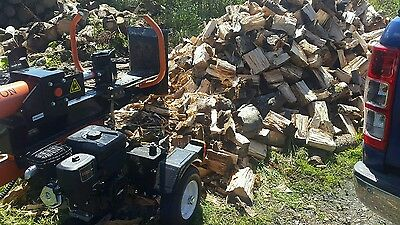 Log Splitter for Hire with Operator - Firewood Logs Wood