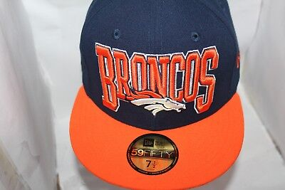 hot sale online b473a 19479 Denver Broncos New Era NFL 2 Tone 59Fifty,Cap,Hat,Fitted   34.99