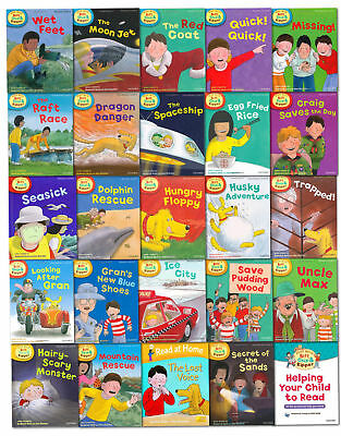 Oxford Read with Biff,Chip & Kipper Level 4-6,25 Books Set Collection Tree Read