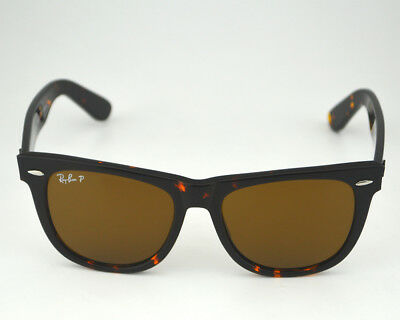 Ray Ban RB2140 Original Wayfarer Classics 902/57 Tortoise Frame/ Polarized Brown