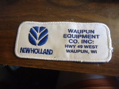 Ford New Holland  Waupun.Wi......Small cost patch  N.O.S. 1990'S Mint