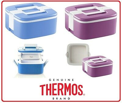 ❤ THERMOS ALFI THERMAL FOOD CARRIER 2L Insulated Stackable Lunchbox Picnic ❤