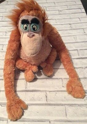 King Loiuie Plush Toy From Jungle Book Disney Stamped