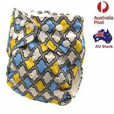 Modern Cloth Nappies Baby Boy Cloth Nappy Cloth Diaper With Pocket Liners (D203)