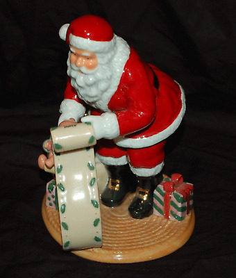 "Royal Doulton Figurine ""Sants's List"" HN 4801 2005 Holiday Tradition Collections"
