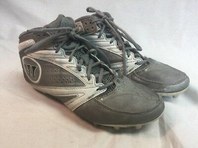 Warrior Men's Lacrosse Cleats Shoes Burn Degree 3.0 Mid WMSSM3GW Size US 8.5