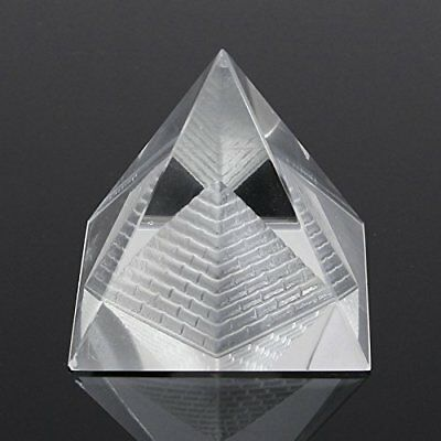 1Pcs Crystal Pyramid Egypt Egyptian Clear Quartz Stone Orgone Healing Large
