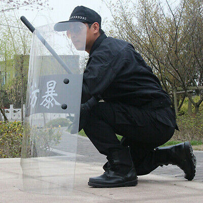 Anti-Riot Shield PC Security Equipment for Cosplay Police Tactical CS 3mm