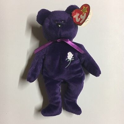 1997 RARE Ty Princess Diana Beanie Baby Retired with TAG ERRORS! *FREE SHIPPING*
