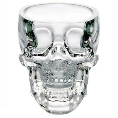Crystal Skull Head Vodka Shot Whiskey Wine Glass Cups Drinking Ware Bar Party AC