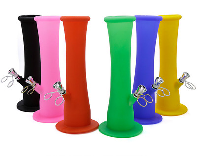 New -Colorful Silicone Folding Portable Hookah Silicone Smoking Bong - Tobacco