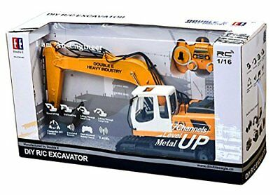 Excavator Tractor Digger Toy Remote Control Construction Vehicle Truck w/ Shovel