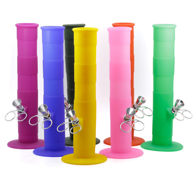 Colorful Silicone Folding Portable Hookah Silicone Smoking Bong - Tobacco New
