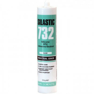SILASTIC 732 - CLEAR Silicone RTV Adhesive/Sealant - INDUSTRIAL GRADE