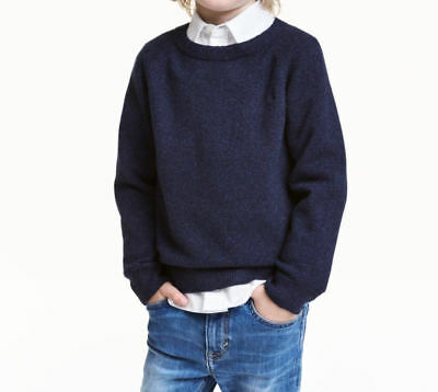 NWT HM boys 100% cashmere sweater