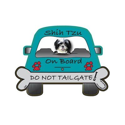 Shih-Tzu Tailgate Custom Shaped Magnet