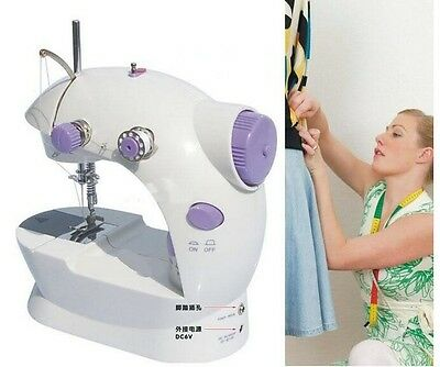 Electric mini sewing machine small household sartorially belt transformer 12in 1