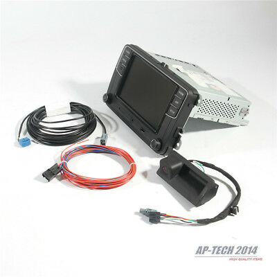 """6.5"""" MIB Radio and Rear View Camera & Cable Set For VW Jetta Passat Golf variant"""