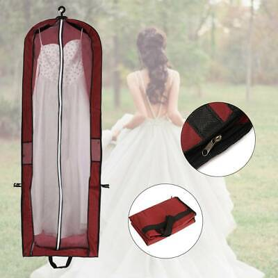 Long Dress Cover Storage Bag for Bridesmaid Bridal Wedding Gown Dress Carrier