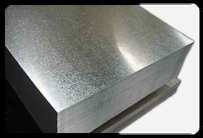 Galvanised Sheet Metal 0.8 1.0 1.2 1.6 2.0 mm Thickness (Various sizes in mm)