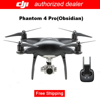 DJI Phantom 4 Pro OBSIDIAN Edition Model Drone - ActiveTrack, TapFly, 7 Km Fly