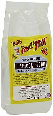Bobs Red Mill Gluten Free Tapioca Flour 500g (Pack of 6)