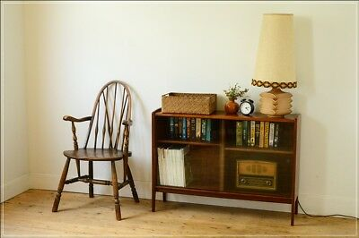 bookcase sideboard teak mid century retro danish  vintage Younger UK DELIVERY