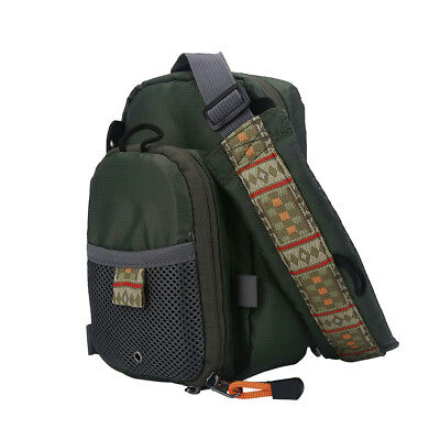 Fly Fishing Lightweight Chest Pack Waist Bag Tackle Gear Vest Backpack