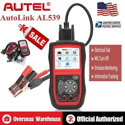 Autel AL539 OBD2Car Auto Reader Electrical Battery Fault Code Diagnostic Scanner
