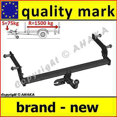 Witter towbar for dacia duster suv facelift 2014 2017 flange tow towbar towball dacia duster 102013 on swan neck tow bar towhitch trailer publicscrutiny Gallery