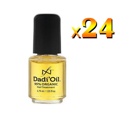 24 x Dadi Oil 95% Organic Nail & Cuticle Conditioner Treatment .125 FL OZ 3.75ml