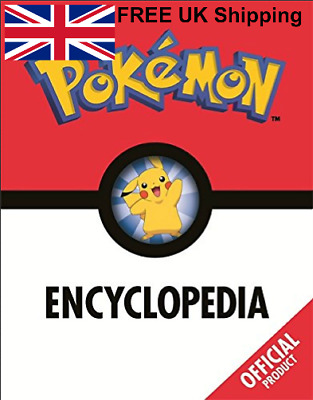 The Pokémon Encyclopedia Official Hardcover By Pokémon Fascinating Facts Figures