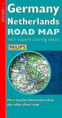 Philips Road Map of Germany and the Netherlands, , Used; Very Good Book