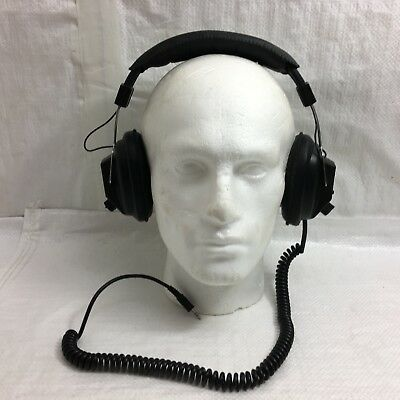 Vintage HD-3030 headphones with mono/stereo input switch