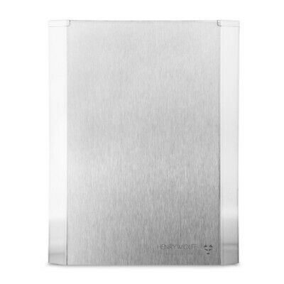 Henry Wolfe Decorative Stainless Steel Fire Blanket Cover