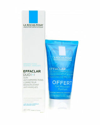 LA ROCHE POSAY Effaclar Duo[+] Cream 40ml + Effaclar Purifying Foaming Gel 50ml